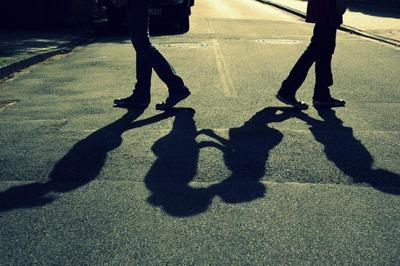 恋人同士の別れのイメージ