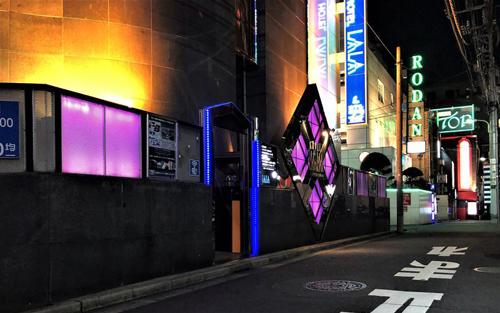 渋谷のラブホテル街