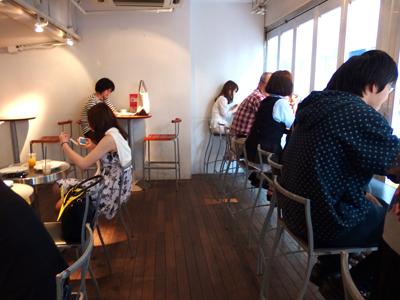 渋谷のカフェのイメージ